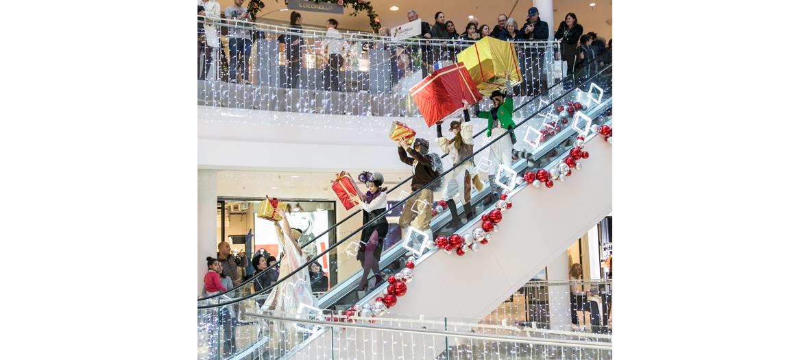 Le Père Noël à Beaugrenelle
