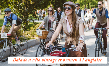 Evenement balade a velo et brunch