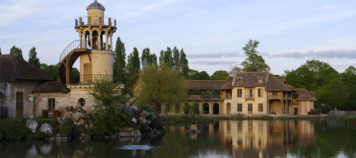 Endroit caché du parc du château de Versailles