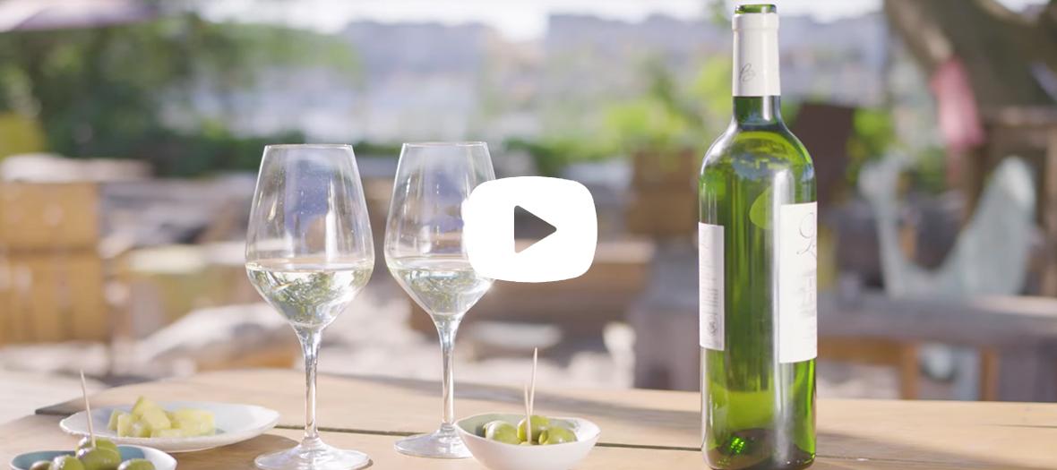 Vidéo promotionnel sur les blancs de Bordeaux