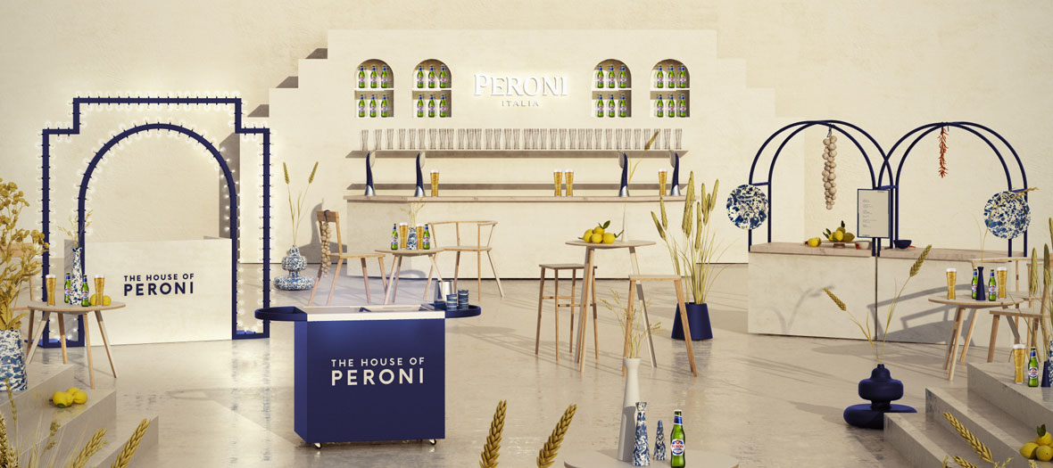 an ephemeral bar House Of Peroni