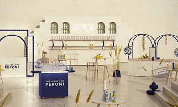 House of peroni finally lands in Paris