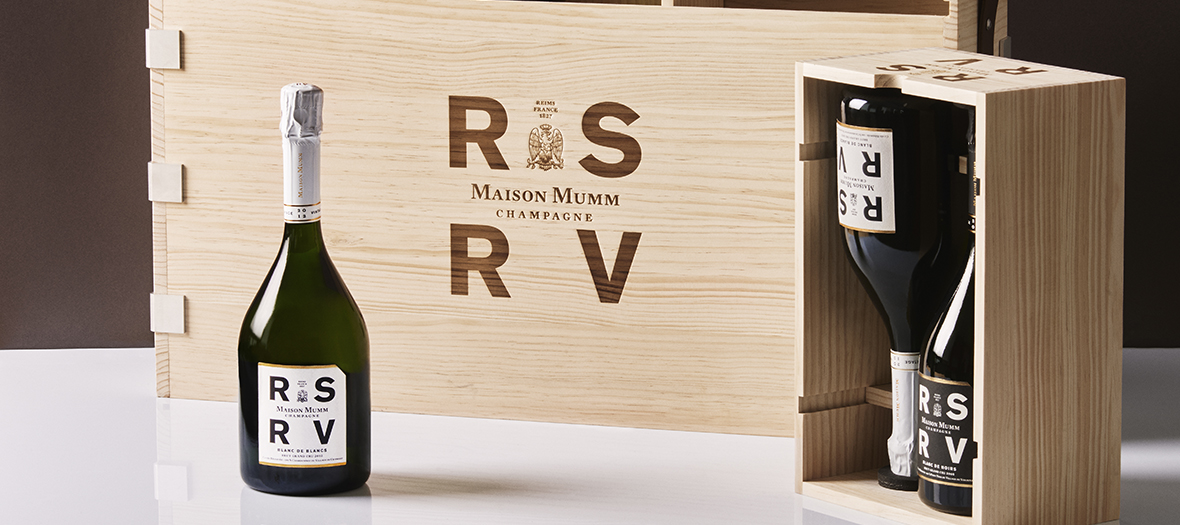 The private cellar Apero Champagne RSRV of Maison Mumm