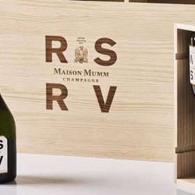 La cave privée Apero Champagne RSRV de la Maison Mumm
