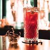 Bar et cocktail du Baby Doll bar