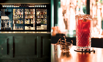 Bar et cocktail du Baby Doll bar