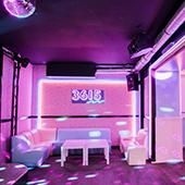 80's atmosphere at the 3615 ephemeral bar in Paris