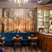 dinning room of the Colert restaurant in Paris
