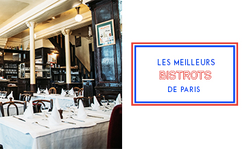 Top 10 bistros in Paris