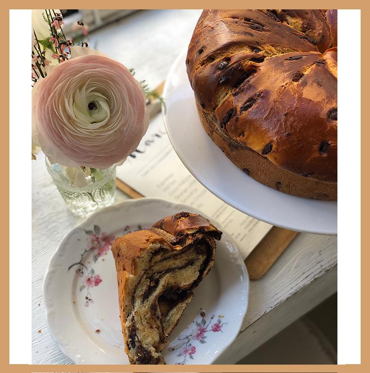 Babka from the bakery Marcelle in Paris