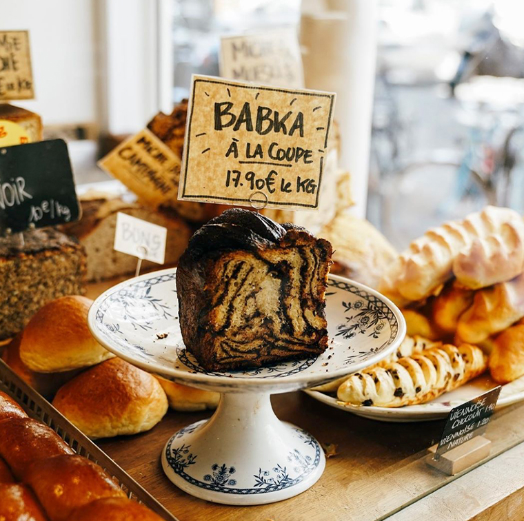 Babka, plump donuts, cookies at the bakery Mamiche Cécile Khayat and Victoria Effantin