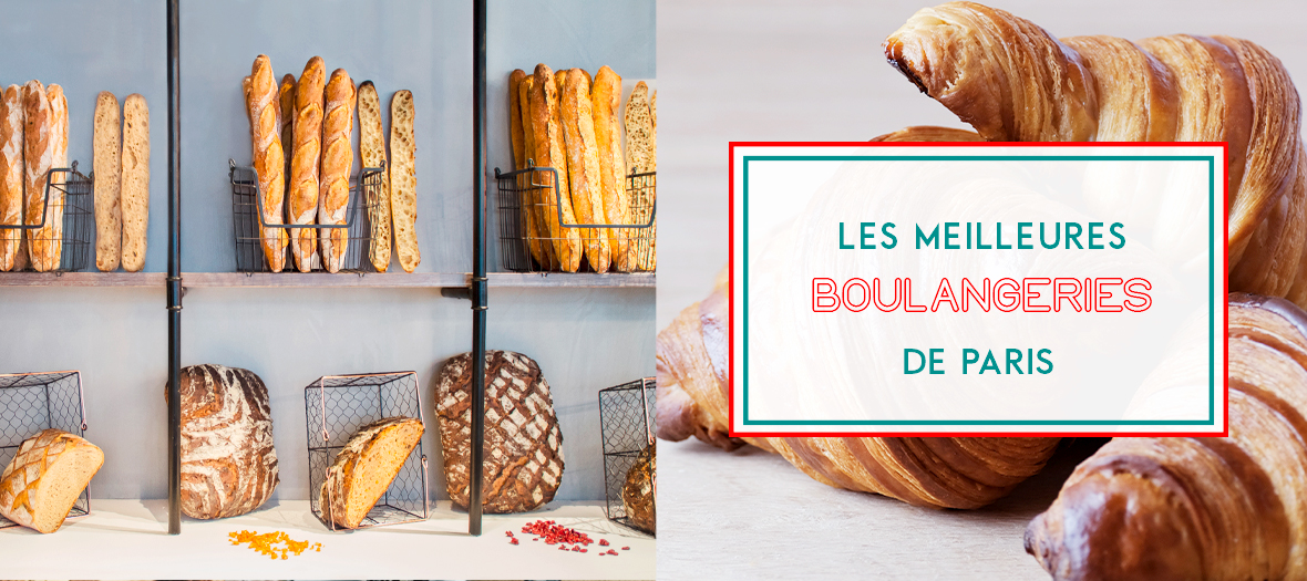 baguettes, loaves, croissants and babka from the best bakeries in Paris