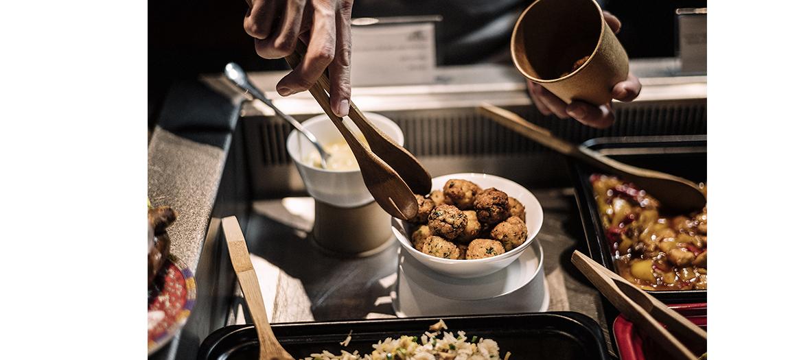 plats préparés sur mesure