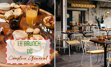 The coolest brunch in Paris