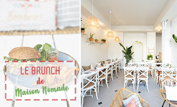 Yoga-Brunch dans le coffee-shop des healthy girls