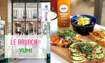 The 100% veggie brunch of Yumi