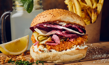 Fish burgers with a swish!