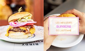 Burger de  Moulaye Fanny avec bun artisanal, steak haché cuit à point, pastrami de boeuf fumé, cheddar, pickles de betterave, mayonnaise maison, paprika fumé et ketchup de betterave