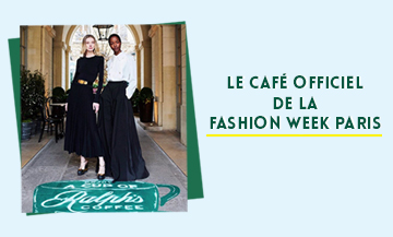 Le café éphémère de la fashion week