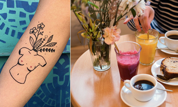 Nomade Café: the coffee-shop where to get a tattoo