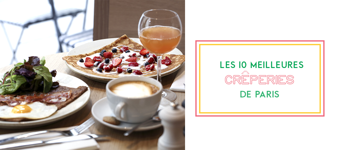Top 10 creperies in Paris