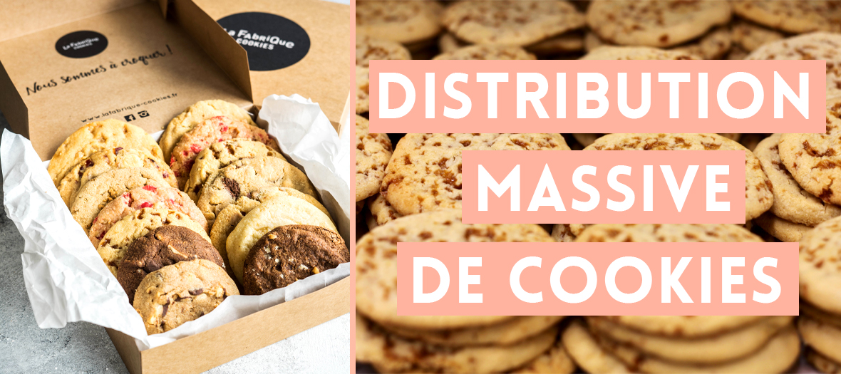 La distribution massive de cookies