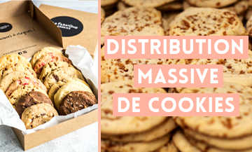 An orgy of cookies all over Paris !