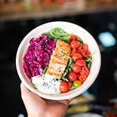 pavé de saumon chez Como Kitchen à Paris