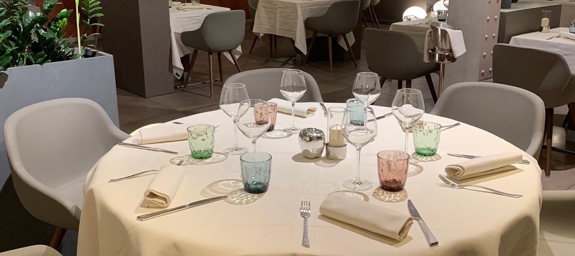 Décoration intérieur du restaurant Officina Schenatti
