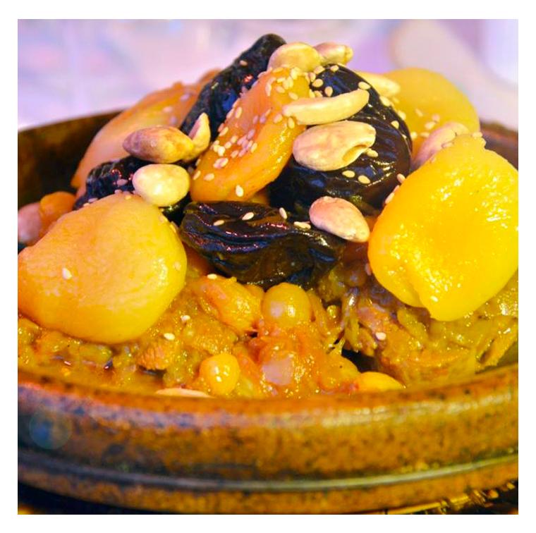 Kefta couscous, fish meatball or couscous