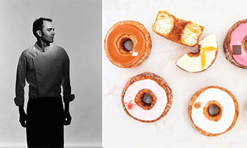 The inventor of Cronut® lands at Yann Couvreur