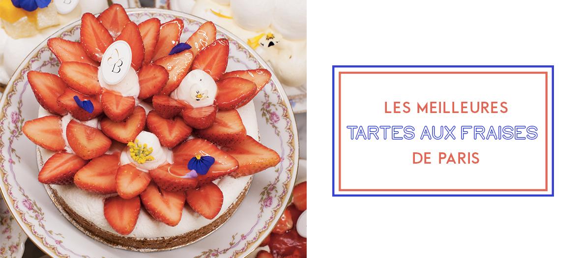 Palmarès des tartes aux fraises à Paris