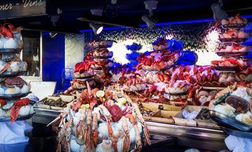 Plateau de fruits de mer à domicile