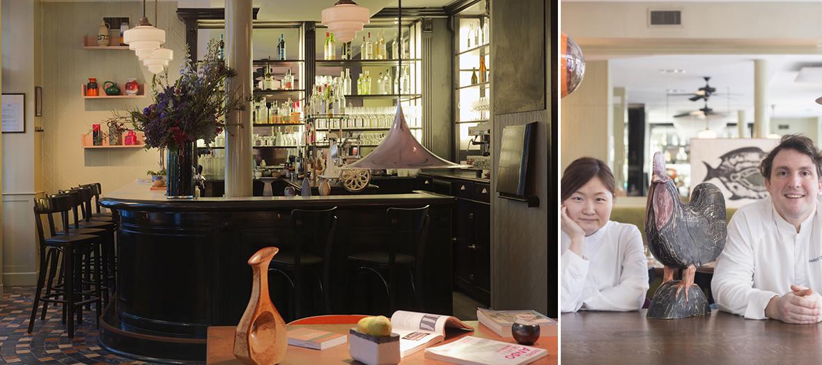 Restaurant de Chiho Kanzaki et Marcelo di Giacomo