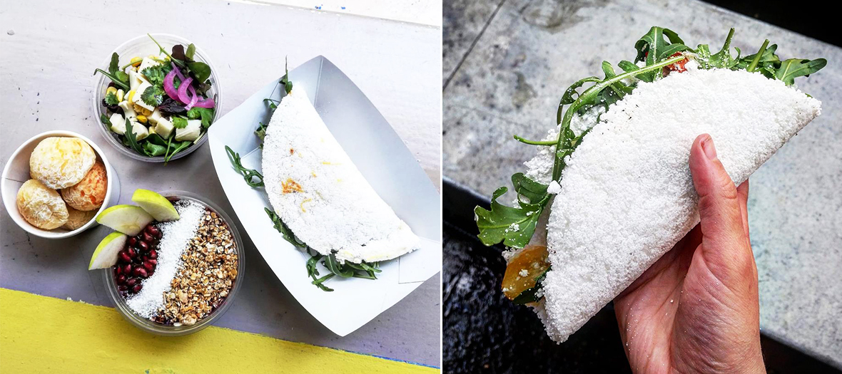 Restaurant brésilien à Paris et crêpe brésilienne