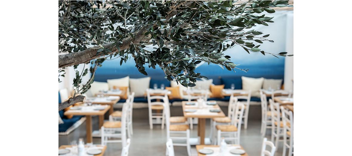 Terrasse du restaurant Yaya