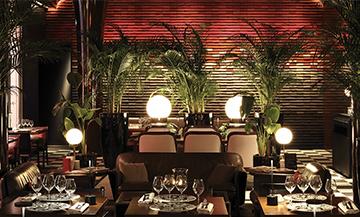 Roxo : un nouveau resto hyper glamour aux Bains