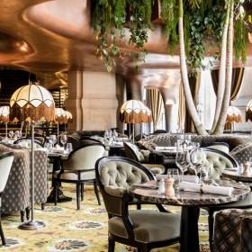 Dining room of Coco restaurant in Opéra Garnier in Paris