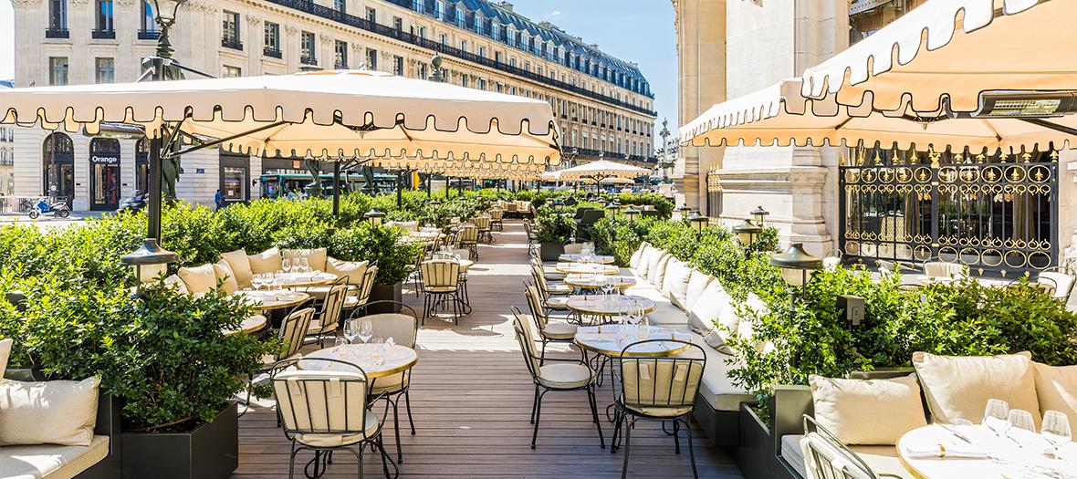 Restaurant Coco avec terrasse et piano bar