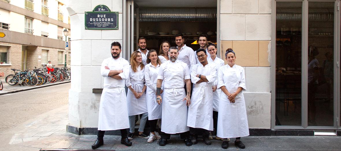 Portrait de l'équipe shabour ,Dan Yosha, Assaf Granit, Uri Navon, Tomer Lanzman