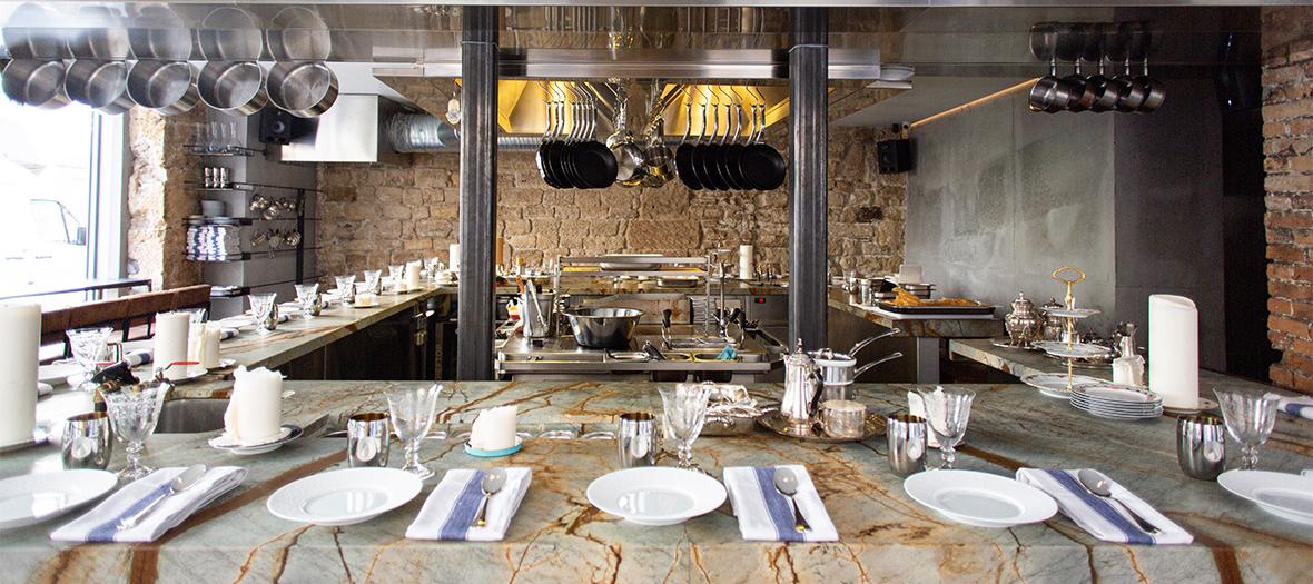 Atmosphere intérieure du restaurant Shabour