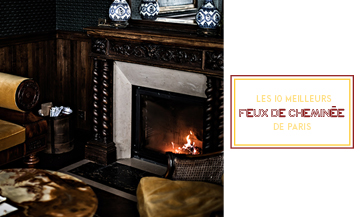 The best restaurant with fireplace in Paris