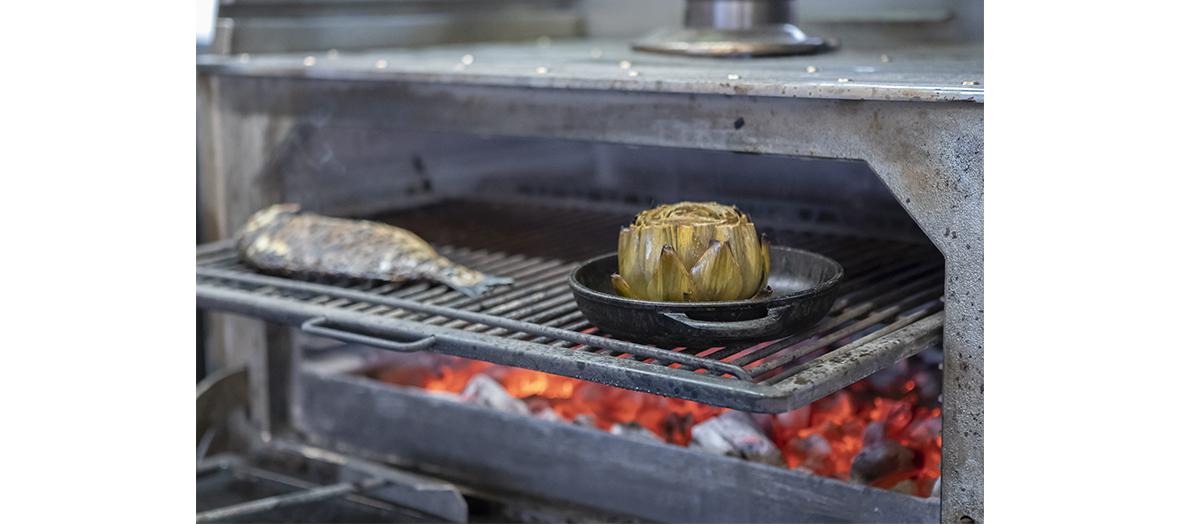 Grillades et barbecue sur le rooftop