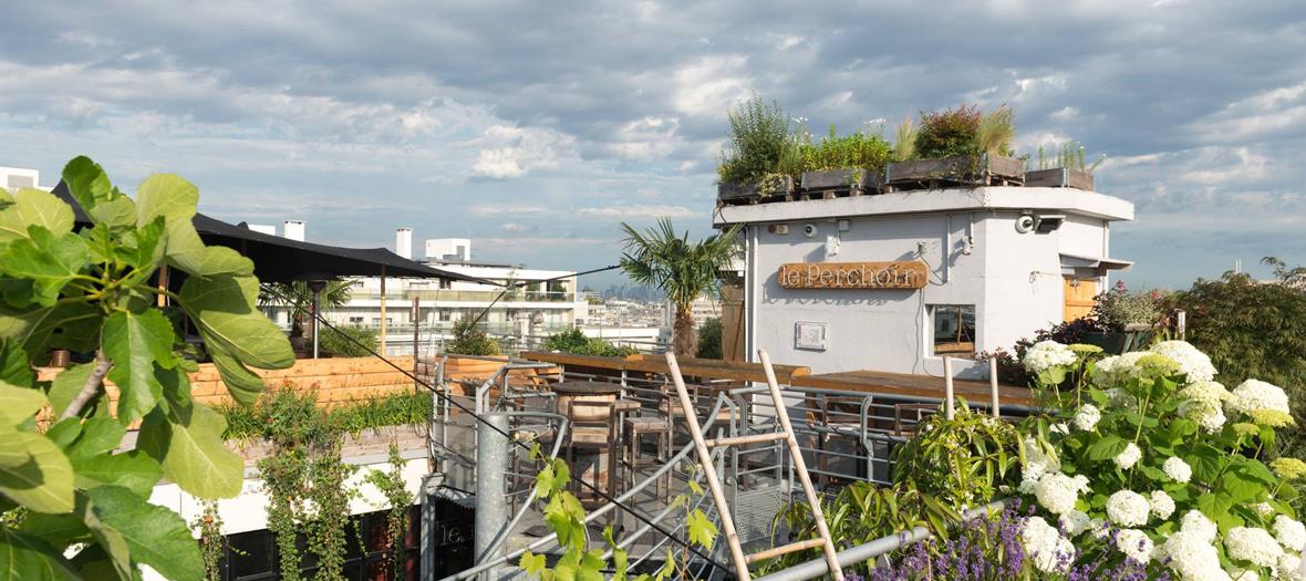 Rooftop à Ménilmontant