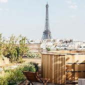 Hotel Brach Rooftops in Paris