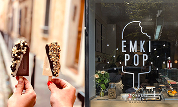 Emki Pop, the coolest ice cream maker in Paris