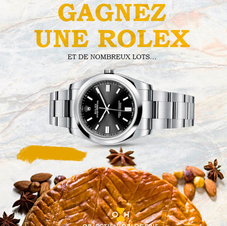 Rolex hidden in one of the patties