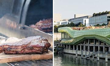 Barbecue sur le rooftop de la cité de la mode et du design
