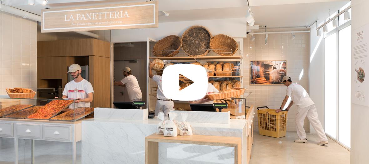 Vidéo de la présentation de Eataly avec Alessandro Binetti