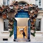 Façade et ambiance intérieur du restaurant Eataly à Paris